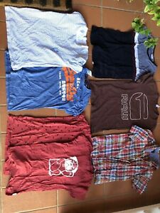 7 men's branded t-shirts