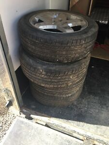 Tires and rims