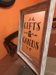 Cards & Gifts Framed Mirror