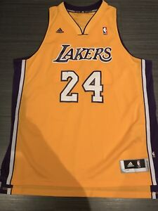 Adidas Kobe Bryant LA Lakers Basketball Swingman Jersey