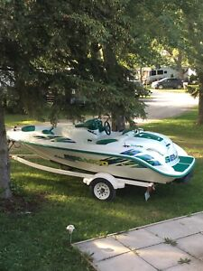 I have a beautiful 2000 seadoo challenger twin