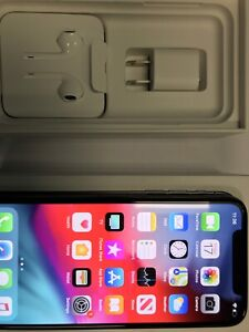 Apple iphone X out of box apple care+ warranty