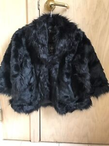 Small Black faux jacket