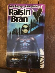 1997 Batman and robin 3D cereal cards