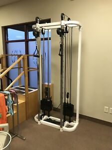 Heavy Duty - Double Pulley Gym System