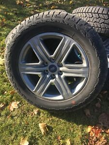 """2018 Ford F-150 sport 20"""" wheels and tires"""