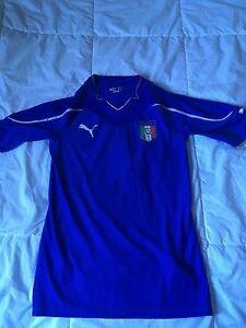 Italy soccer jersey (authentic)