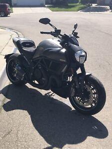 Titanium Ducati Diavel - ONE in Edmonton
