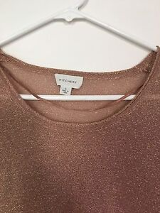 Metallic long sleeved top by Witchery Bronte Eastern Suburbs Preview