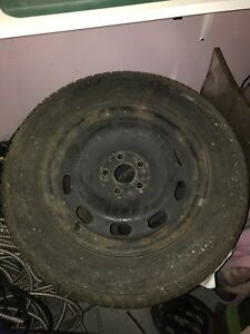 Selling 4 Winter Tires With Rims