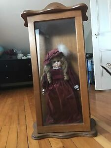Antique dolls and case