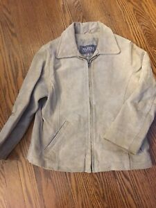 Size 5 girl's leather jacket