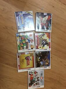 Various 3ds games