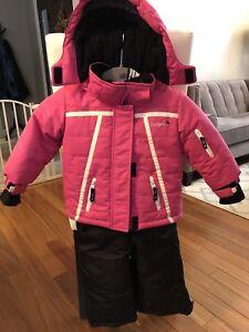 Girl's Snowsuit - Conifere Size 2