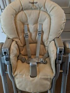 Chaise haute Peg perego Prima papa beige + bottines Ecco #20