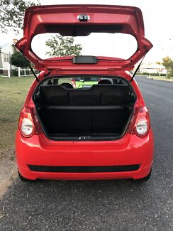 Holden Barina Hatchback 2009 RED  Warwick Southern Downs Preview