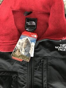 North Face men's large sweater jacket NEW