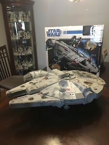 FS: big 2.5 foot Millennium Falcon. Very rare.