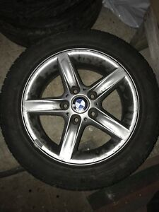 16inch BMW rims w/ winter tires