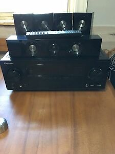 Home theatre system ,Pioneer VSX-823 Receiver. Powered Sub