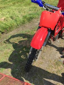 Honda cr 250 r 1985 2 temps
