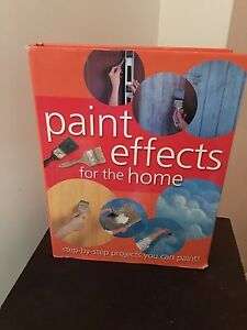 Paint effects for the home book