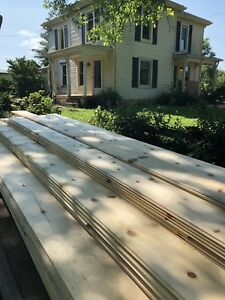 Gorgeous wide-plank red pine (floors or walls/ceilings)