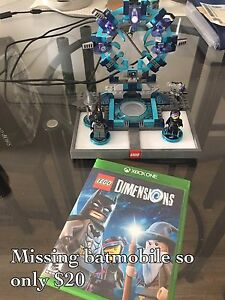 Lego dimensions XBOX ONE (missing batmobile)
