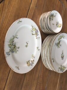 Limoges JP Pouyat Dishes