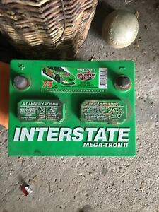 Interstate MT 35 car battery — never used