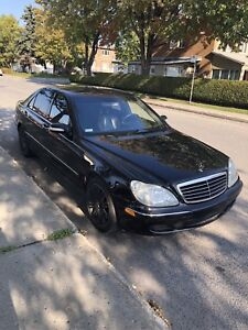 Mercedes S500 4Matic 2003