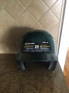 New Easton dark green baseball helmet