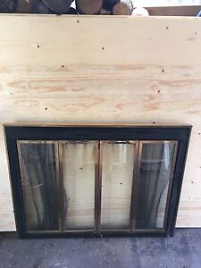 Fireplace doors or cover