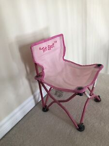 Pink Fold Up Chair