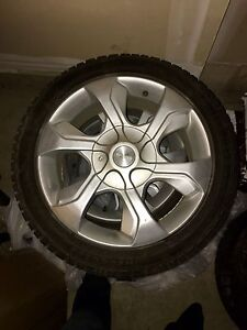 "17"" Multi-fit alloy wheels (rims only); VW, Good for winter!"