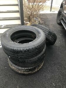 Bridgestone Dueler A/T Mud and Snow Tires