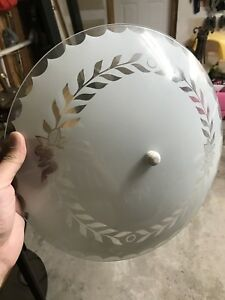 dome Lighting fixture good condition