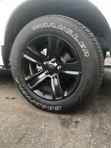 2018 Dodge Ram Sport 1500 Stock Tires + Rims