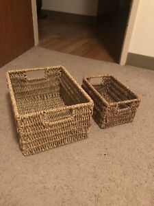 Wicker Box/Baskets
