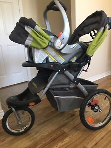 Stroller and car seat set for sale