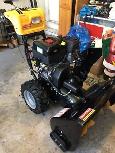 Craftsman Professional 30 snowblower