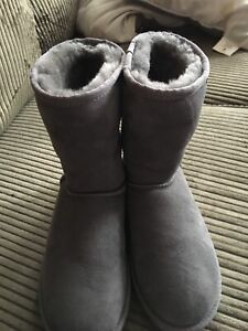 Grey UGGS Classic boot brand new