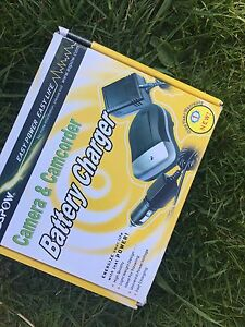 Camera and Camcorder Battery Charger