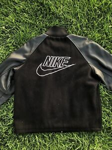 Vintage Exclusive Nike Leather Jacket Size Large