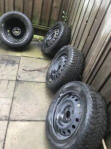 Winter tires 215/60/16