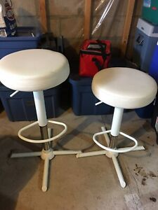 Adjustable stools $30 for both