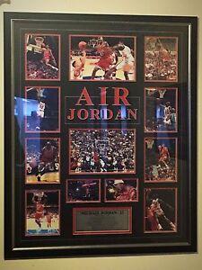 Michael Jordan Framed Picture Doncaster Manningham Area Preview