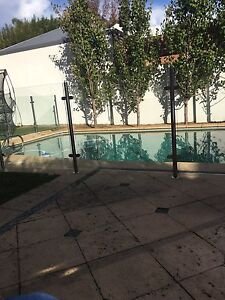 Semi frameless glass pool fencing & posts Claremont Nedlands Area Preview
