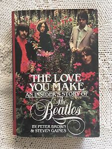 Beatles: The Love You Make H/C with D/J $25
