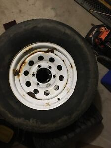 6 bolt trailer wheels and tires